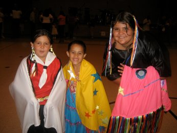 Bayou Eagles Native American Dance Troupe at the Dulac Community Center