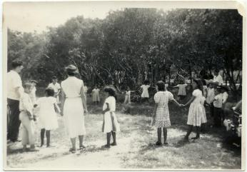 Dulac Indian Mission School Children