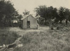 Home in Dulac, 1950's