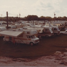 campers at the fair, 1982